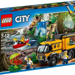 LEGO City - Dzsungel mozgó labor (60160)