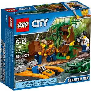 LEGO City - Dzsungel kezdőkészlet (60157)