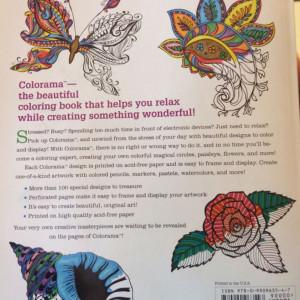 Colorama Coloring Bookbonus Pencil Set