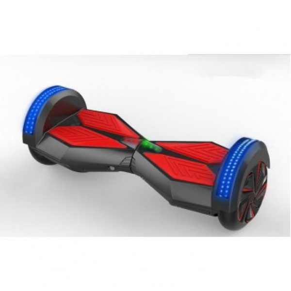 Hoverboard Wave Black Blue Red Bluetooth Samsung Battery Charge