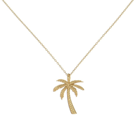 Palm tree necklace kb jewels previous mozeypictures Choice Image
