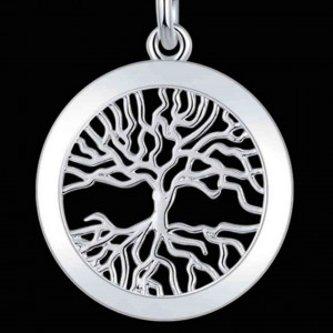 Tree of life silver plated pendant kittijewelry tree of life silver plated pendant aloadofball Choice Image