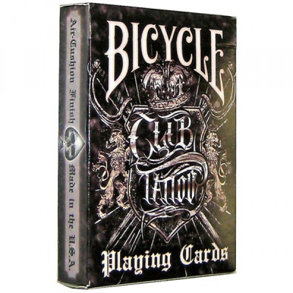 Bicycle club tattoo bicycle cards egypt for Bicycle club tattoo deck