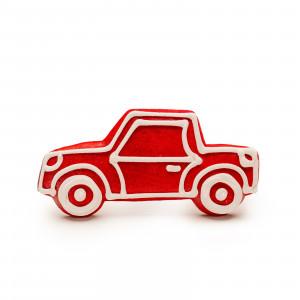 Mașinuță de turtă dulce (roșu)