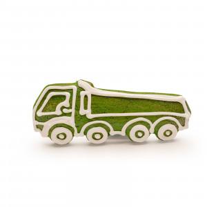 Camion de turtă dulce (verde)