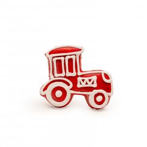 Tractor de turtă dulce (roșu)