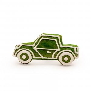 Mașinuță de turtă dulce (verde)