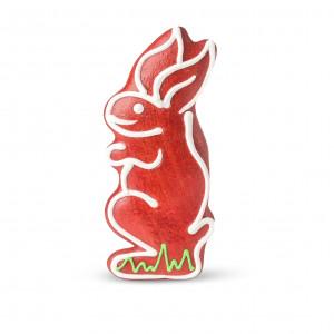 Iepuraș de turtă dulce (roșu)