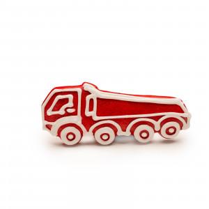 Camion de turtă dulce (roșu)