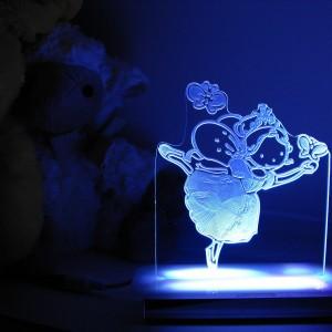 e576f0e155f Miss Swan the Ballerina Night Light - Illuminate Creations
