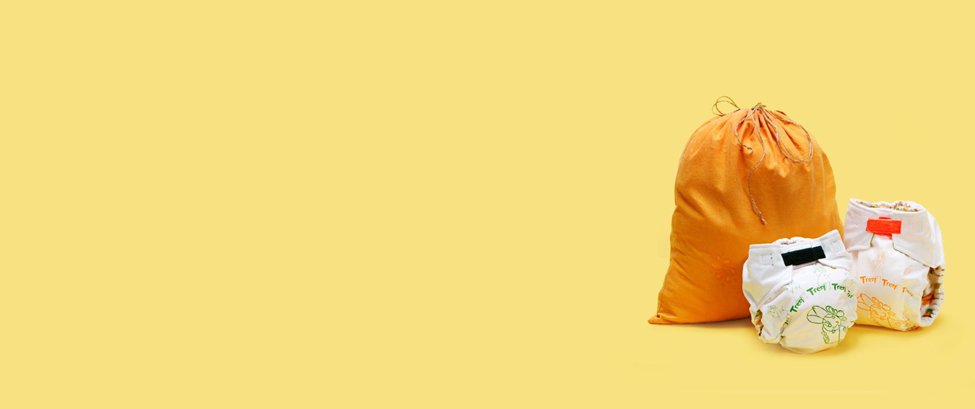 Trëzy - a modern mosható pelenka